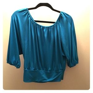 Tops - Express size S blue top